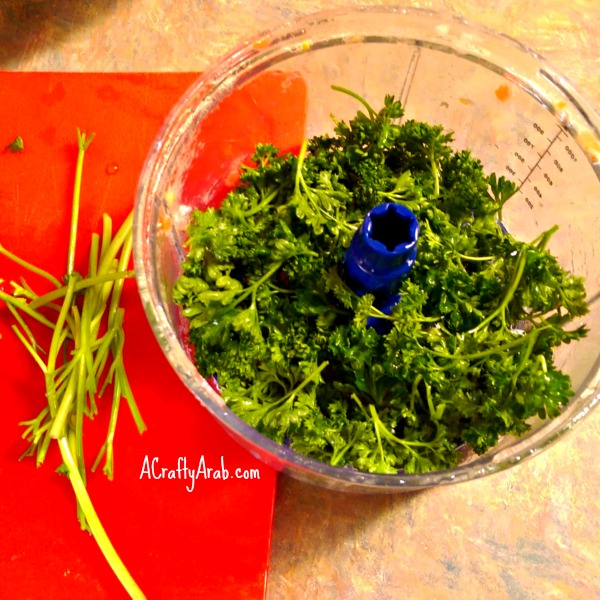 ACraftyArab Tabbouleh in the Morning6