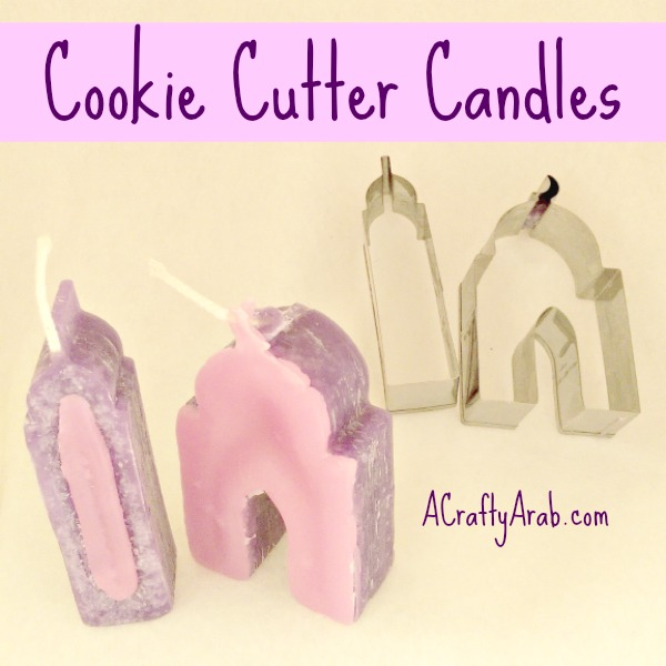 ACraftyArab Cookie Cutter Candles