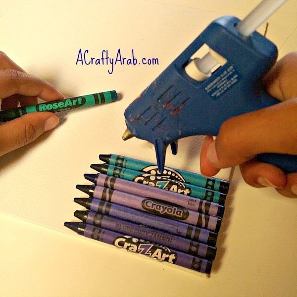 ACraftyArab Melted Crayon Allah Art3
