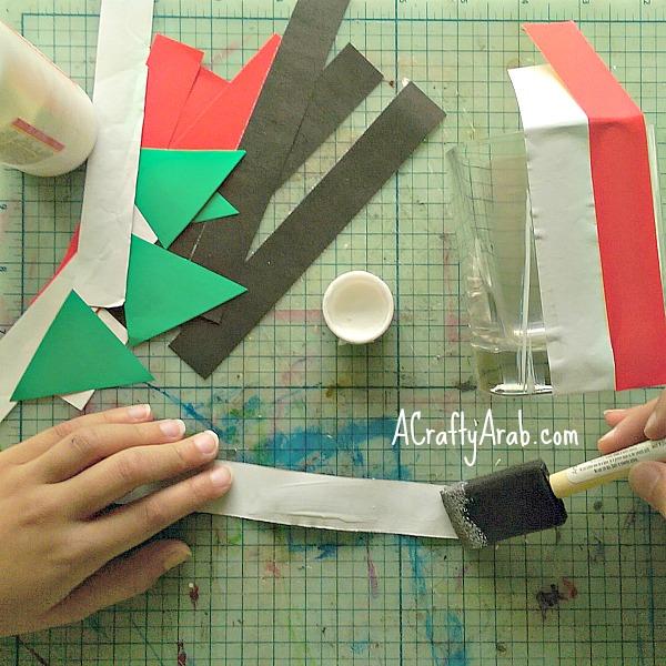 ACraftyArab Sudan Flag Lantern3