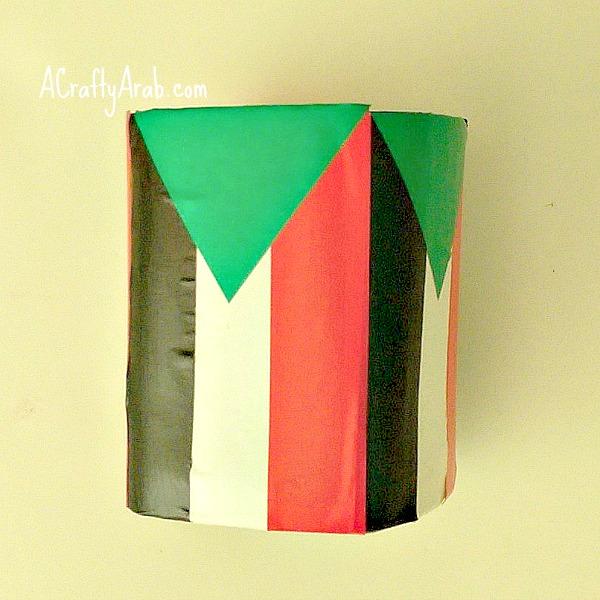 ACraftyArab Sudan Flag Lantern7