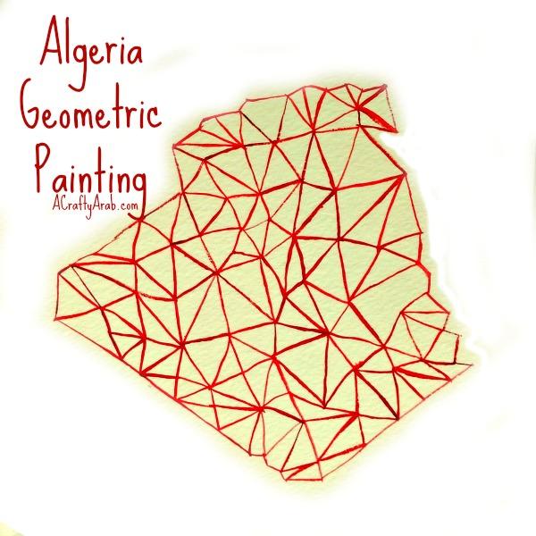 ACraftyArab Algeria Geometric Painting Title