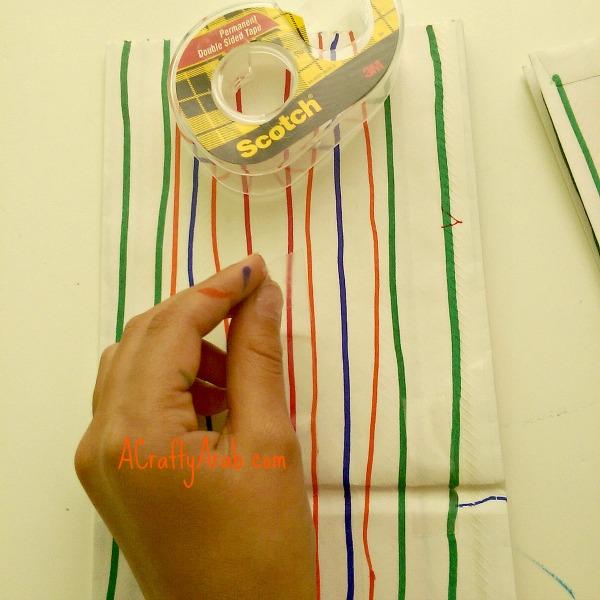 ACraftyArab Hanging Paper Bag Khatam10