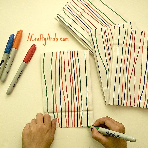ACraftyArab Hanging Paper Bag Khatam2