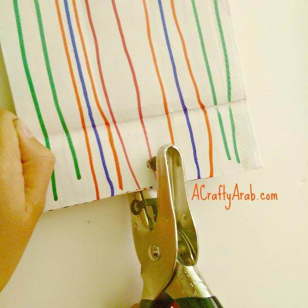 ACraftyArab Hanging Paper Bag Khatam3
