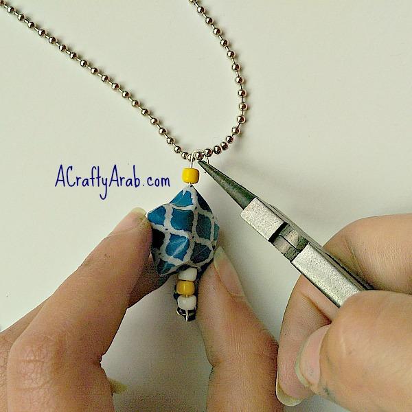 ACraftyArab Origami Star Eid Necklace14