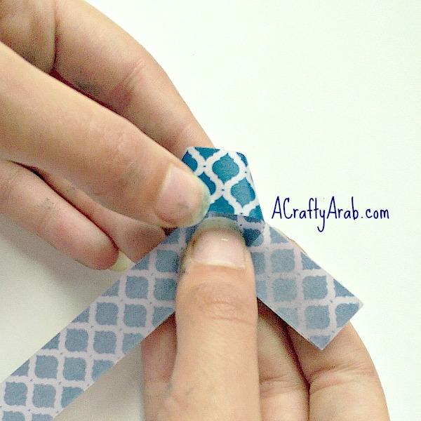 ACraftyArab Origami Star Eid Necklace5