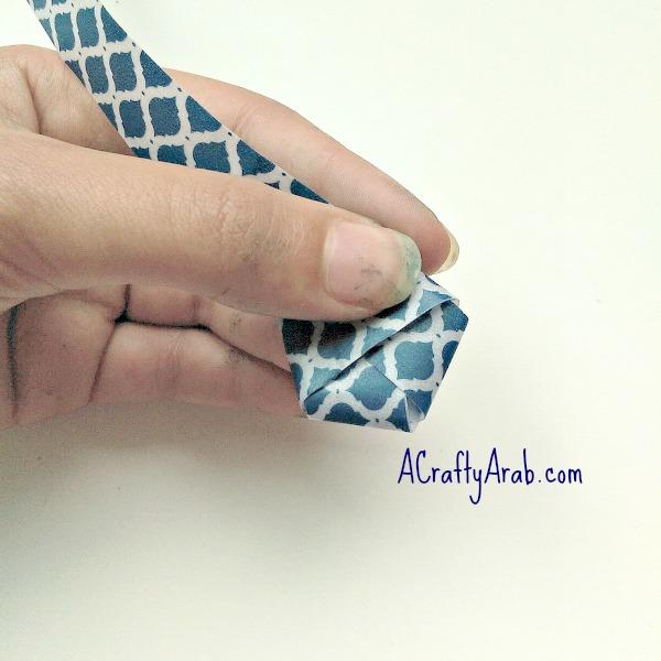ACraftyArab Origami Star Eid Necklace7