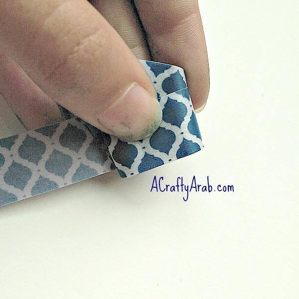 ACraftyArab Origami Star Eid Necklace8