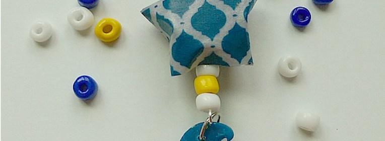 ACraftyArab Origami Star Eid NecklaceWP