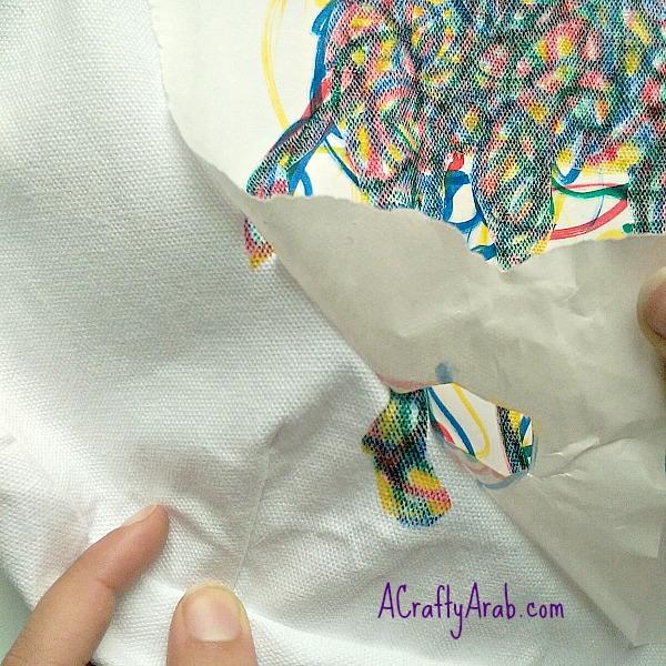 ACraftyArab Freezer Paper Camel