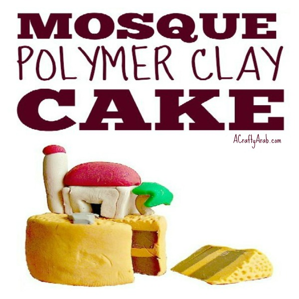 polymer clay cake tutorial