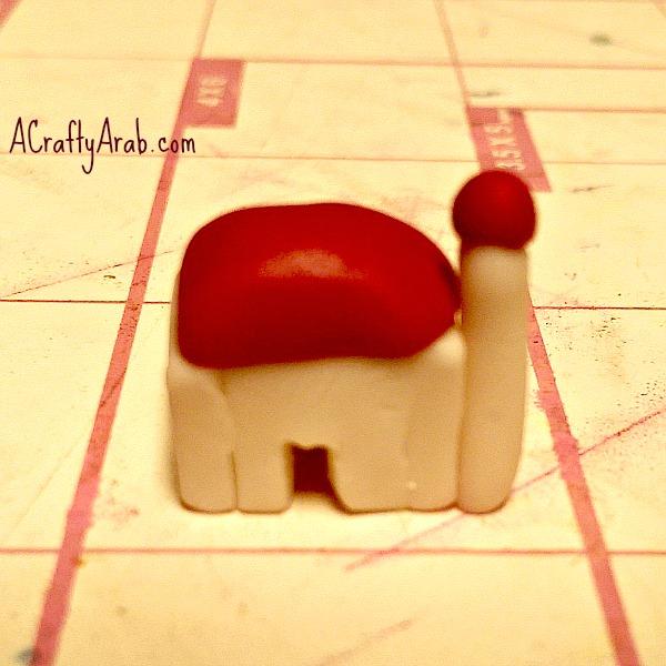 acraftyarab-mosque-ACraftyArab Polymer Clay Cake Tutorial-clay-cake12
