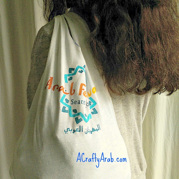A Crafty Arab A Crafty Arab No Sew Tshirt Bag Tutorial