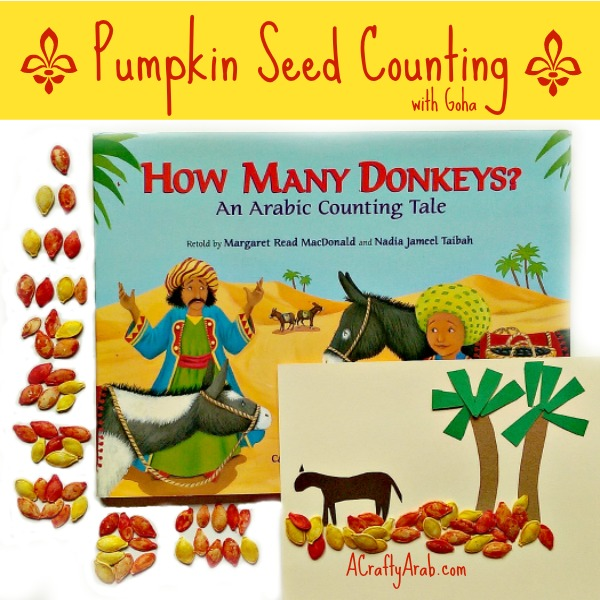 ACraftyArab Pumpkin Seed Counting with Goha Tutorial