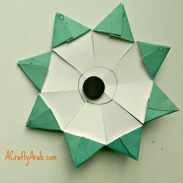 We Added Our Smaller Khatam Another Dot Of Glue And A Puff Ball Turning Star Over The Magnet To Back With Final Touch