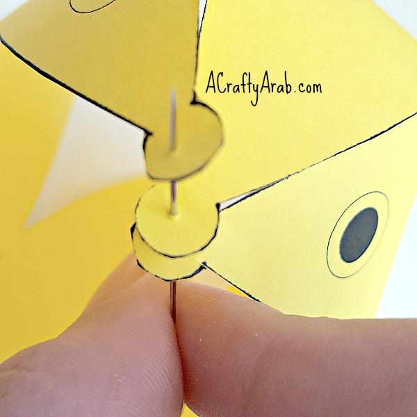 ACraftyArab Nowruz Paper Goldfish5