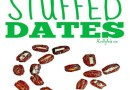 6 Kid Approved Stuffed Dates {Recipe}