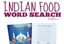 Ramadan Indian Food Word Search {Printable} Plus {Review}
