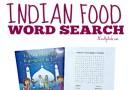Ramadan Indian Food Word Search {Printable} Plus {Review}