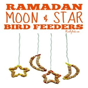 ramadan crafts, bird feeder, children, islam, fasting