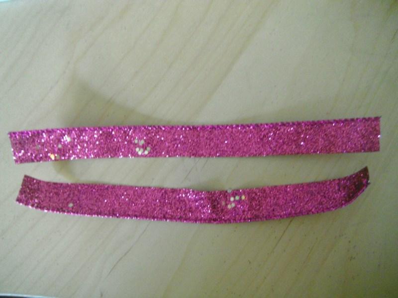 ribbon cut length-wise