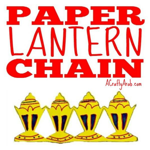 Ramadan lantern chain