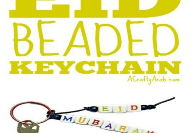 Eid Beaded Keychain {Tutorial}