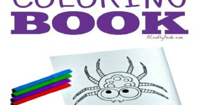 Arabic Alphabet Letter Coloring Page Ayn is for 'Ankaboot Animal