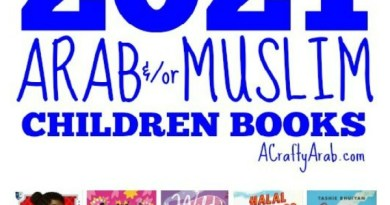 Top Arab and/or Muslim Children Books for 2021 {Resource}