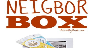 Eid Neighbor Gift Box {Resource}