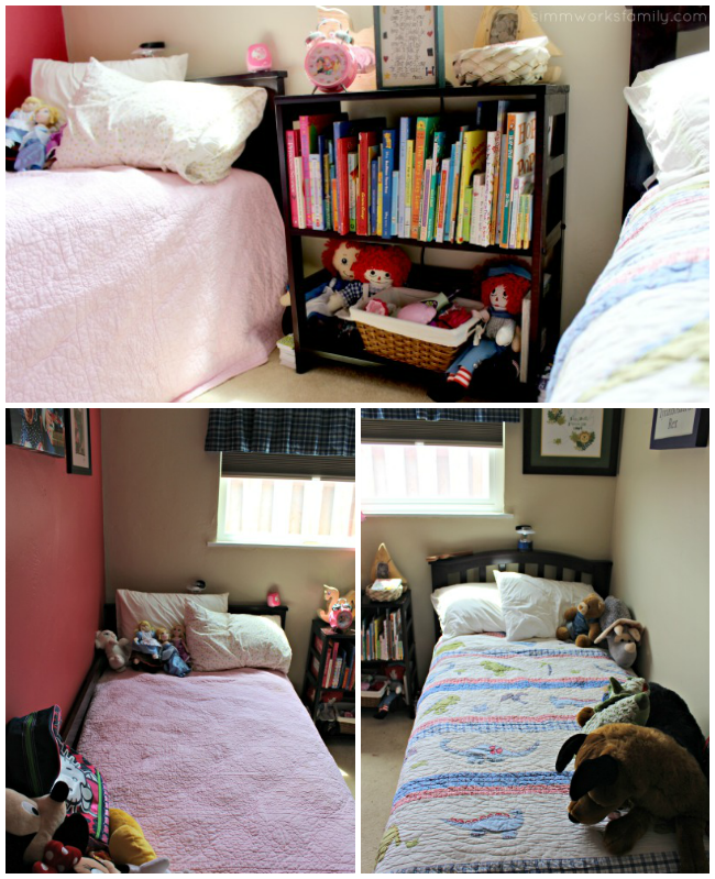 Shared Bedroom Ideas for Brother and Sister  A Crafty