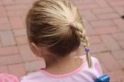 make elsa braid simple