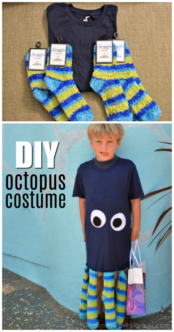 Minute Diy Octopus Costume - Crafty Spoonful