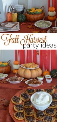 Fall Harvest Party Ideas - A Crafty Spoonful