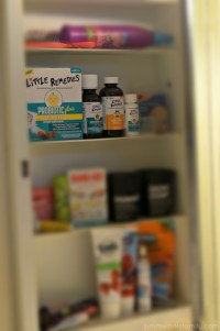 Medicine Cabinet Essentials for Baby Checklist