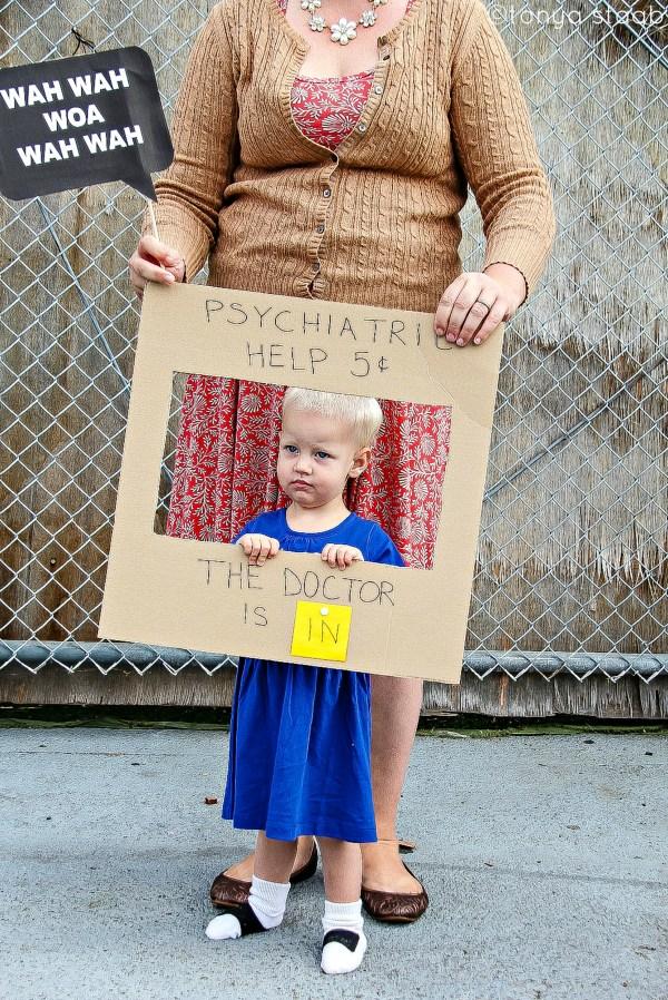 Diy Lucy Van Pelt Costume Tutorial Kids Adults