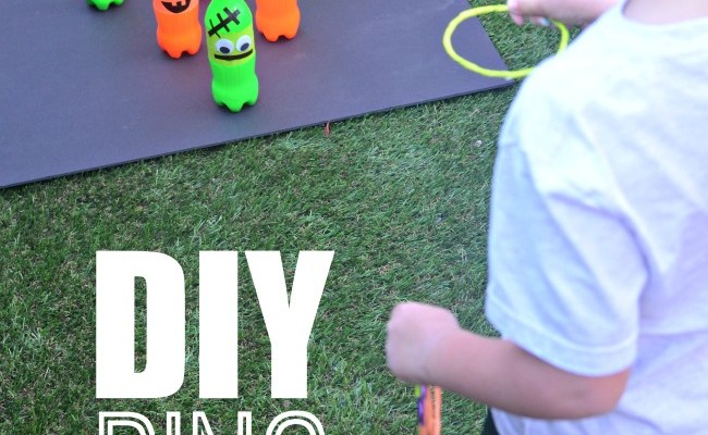 Fall Carnival Games Diy Ring Toss Game Idea A Crafty