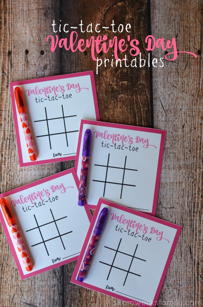 A Dare Tic Tac Toe Valentines Day Printables A Crafty
