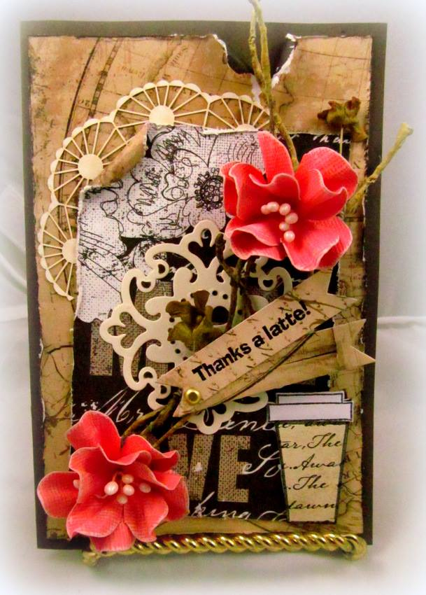 Coffee Is My Liquid Therapy Clear Stamps And Crafting Products