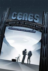 Visions of the Future: pôsteres do sistema solar e além - 02