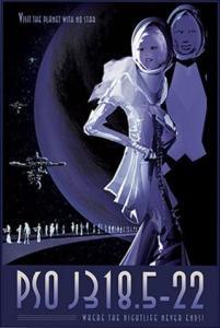 Visions of the Future: pôsteres do sistema solar e além - 011