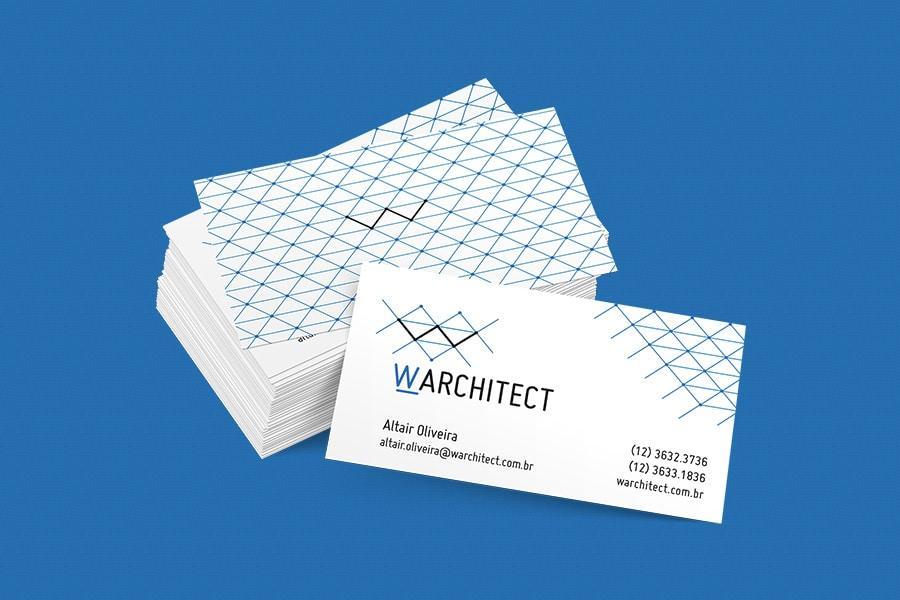 W Architect - Cartão de Visitas