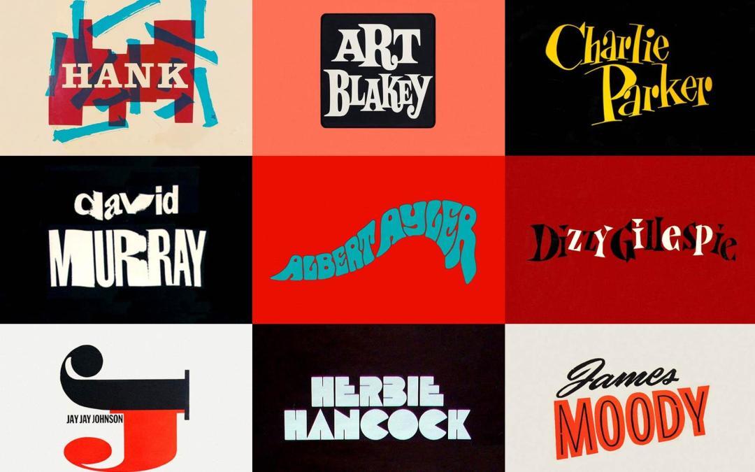 A arte do lettering nas capas e pôsteres de músicos de jazz
