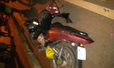 Colisão frontal entre motocicletas deixa um morto em Sena Madureira, no interior do Acre — Foto: Divulgação/PM-AC