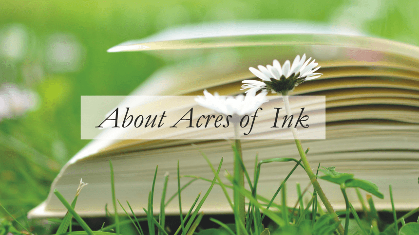 Welcome to Acres of Ink Book Editing