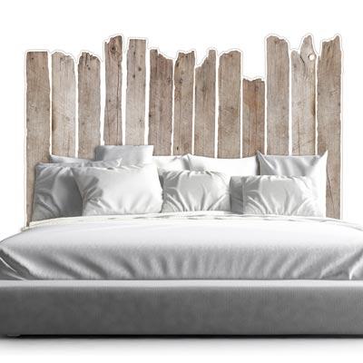 tete de lit bois flottes acrila