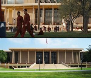 Oviatt Library as Star Fleet Academy