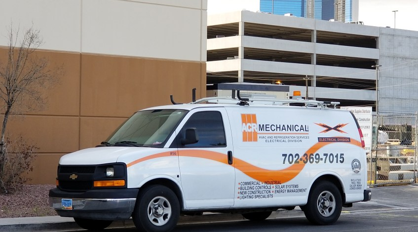 ACR Mechanical Electrical Service Vehicle in Las Vegas