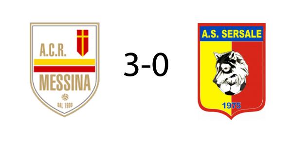 In amichevole il Messina batte il Sersale 3-0